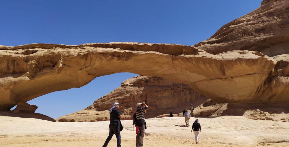 Sand stone Arc, Wadi Rum, Jordan